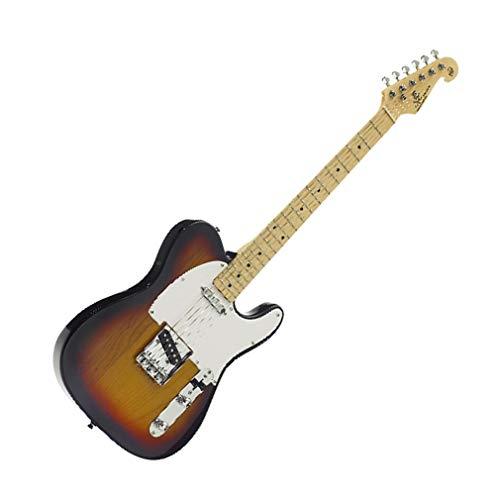 SX Guitarra eléctrica estilo TC Sunburst Alder 86773T