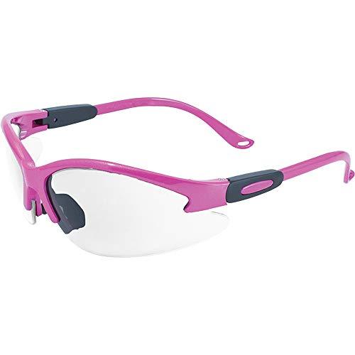 Global Vision Eyewear Pink Frame Cougar Lab Safety Glasses