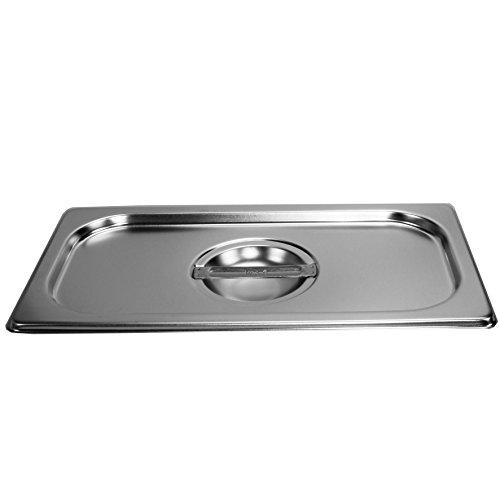 Deckel Gastronormbehälter 1/3 GN Behälter Edelstahl Gastro Gefäß Norm