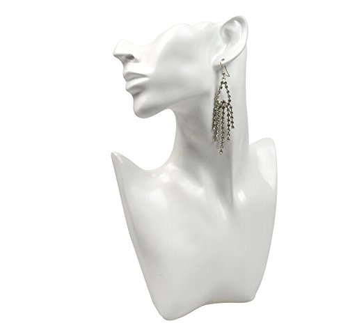 xiangshang shangmao Head Bust Stand Jewelry Necklace Earring Chain Display Holder Rack Show