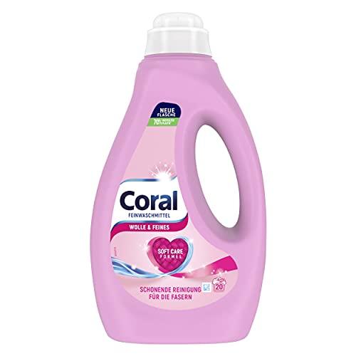Coral Feinwaschmittel Wolle & Feines