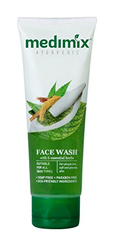 Medimix Ayurvedic Face Wash with Essential Herbs Everyday Skin Protection 50ml *Ship from UK