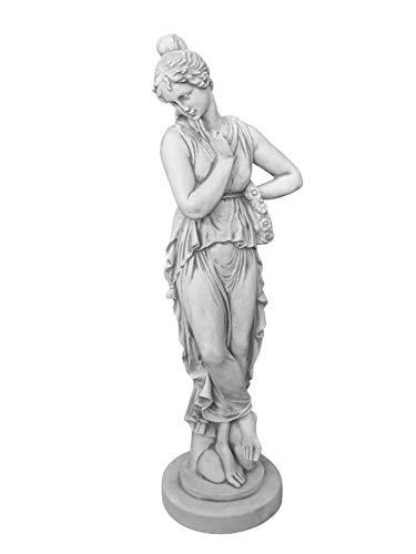 gartendekoparadies.de Wunderschöne kleine Statue Antik aus Steinguss, frostfest