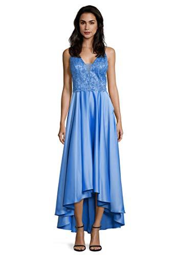 Vera Mont Damen 8084/4522 Partykleid, Blau (Brilliant Blue 8237), (Herstellergröße: 38)