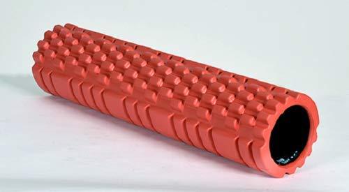 Christopeit Faszienrolle Massagerolle XL 60 cm mit strukturierter Oberfläche