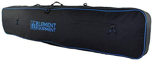 Element Equipment Snowboard Bag with Shoulder Strap and Gear Pockets 157 Black/Blue