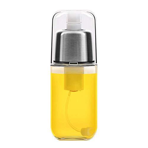 Distributeur de pulvérisateur d'huile, bouteille de pulvérisation d'huile d'olive portable, pulvérisateur de vinaigre, acier inoxydable en verre de qualité alimentaire de haute qualité pour la cuisine