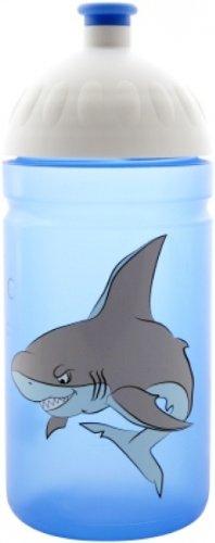 FreeWater Trinkflasche Flasche Hai blau 0,5 l