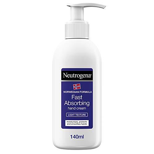 Neutrogena Crema De Manos Con Absorción Rápida (Textura Ligera) - 140 ml.