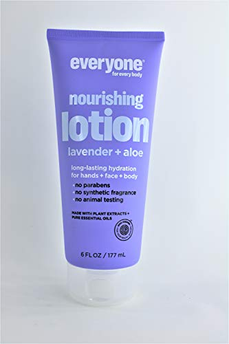 Everyone 3-in-1 Lotion, Lavender & Aloe, 6 oz Each (Pack of 2)