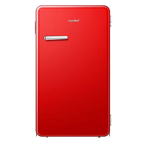 comfee CRR33S3ARD Refrigerator, 3.3, Red