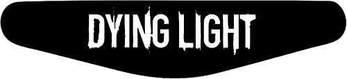 Decus-Shop Play Station PS4 Lightbar Sticker Aufkleber Dying Light (schwarz)