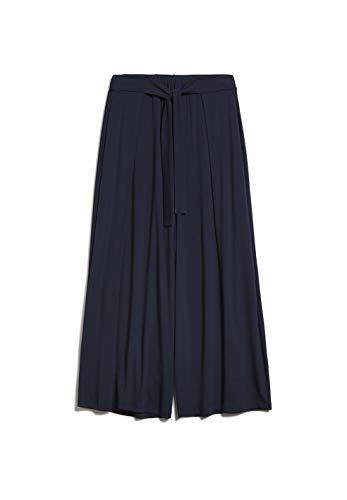 ARMEDANGELS KAROLINAA - Damen Culottes aus LENZING™ ECOVERO™ Mix M Night Sky Hose Jersey Loose fit