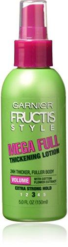 Garnier Fructis Full & Plush Mega Full Thicken Lotion 5 Ounce (145ml) (2 Pack)