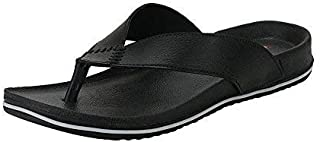 Maddy Leather Look Ultra lite Multicolored Casual Slipper's for Men's