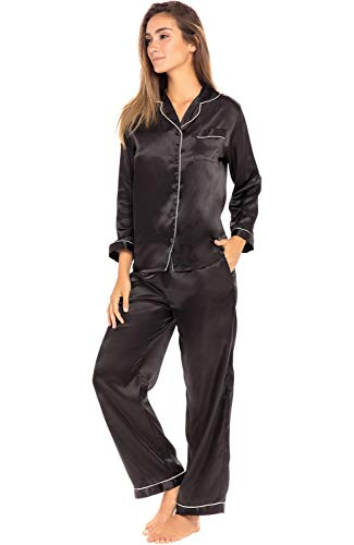 RISK FREE GUARANTEE - We know that one of the biggest drawbacks to buying sleepwear online is the fact that you can't try the product in person - that is why we absorb that risk for you. Order this lightweight pajama set now and if you are not comple...