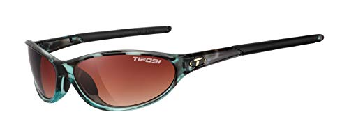Tifosi womens Alpe 2.0 SingleLens Sunglasses,Blue Tortoise,62 mm
