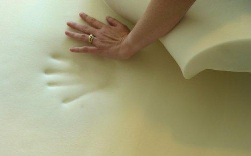 3-Inch Visco Elastic Memory Foam Mattress Topper, Queen