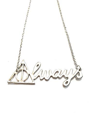 giulyscreations Collar de metal níquel Free Always Hp Doni Muerte