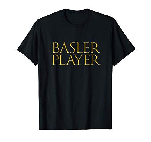 Basler Player Best Drum Music Instrument Musician Basler Maglietta