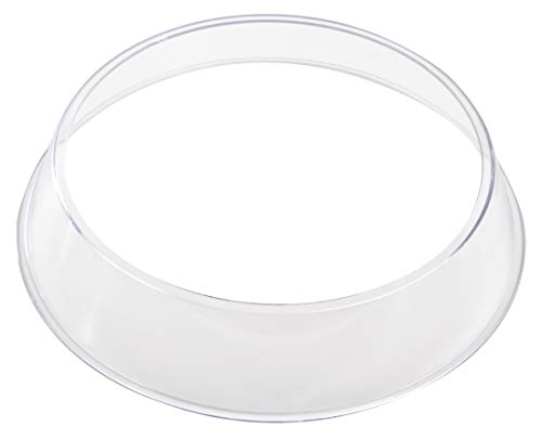 Vogue K481 Polycarbonate Plate Ring, 40 mm H x 215 mm Ø, Plate Cover Supplied Separately