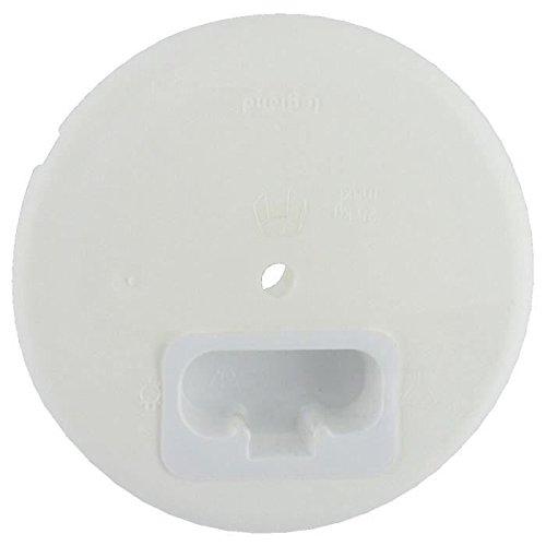 Legrand LEG90569 couvercle pour branchement de lustre avec terre 6A/230V