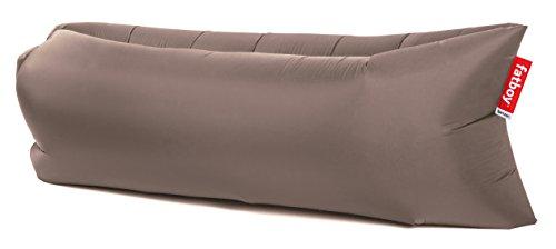 Fatboy® Lamzac The Original 2.0 Taupe | Aufblasbares Sofa/Liege, Sitzsack mit Luft gefüllt | Outdoor geeignet | 185 x 83 x 50 cm