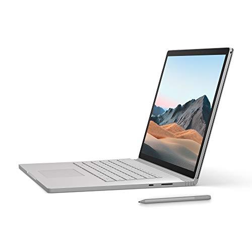 """Microsoft Surface Book 3 da 15"""", Core i7, RAM 16 GB, SDD 256 GB + Surface Penna, Platino"""