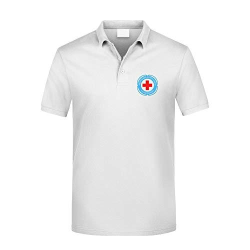 MT83 DRK Deutsches Rotes Kreuz Wasserwacht Poloshirt alle gestickten Logos (2XL)