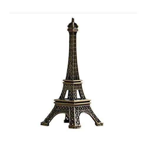 HENGXIANG Decoraties, Parijs, Frankrijk, Eiffeltoren Ornamenten, Modellen, Creatieve verjaardagscadeaus, Kleine ambachten, Woonkamer Wijnkast Decoraties, 18CM Parijs Toren Speelgoed Home Office Tafeldecoratie Gif