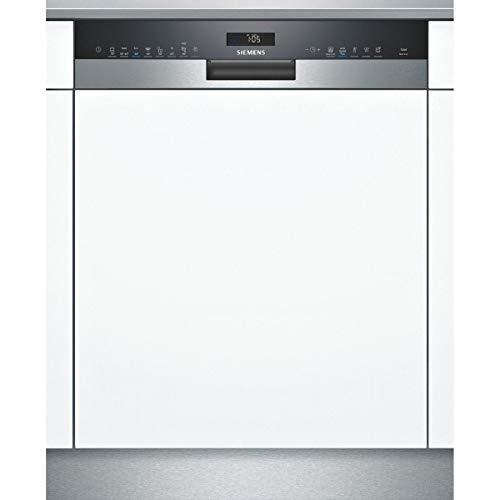 Lave vaisselle encastrable Siemens SN558S09ME - Lave vaisselle integrable 60 cm - Classe A++ / 42 decibels - 14 couverts - Silver Inox bandeau : Inox - Tiroir a couvert