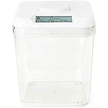 Kitchen Safe 完全な単位 (White Lid + Clear Base)
