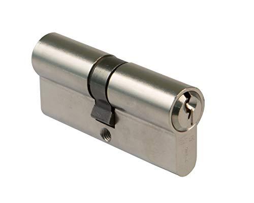 Amig 9700-Cilindro Cerradura 19529, Leva Larga, Cromo Mate, 60 (30-30 mm)