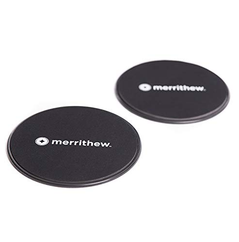 merrithew corporation Merrithew Sliding Mobility Disks, Dischi mobili scorrevoli Unisex-Adulto, Nero, XL
