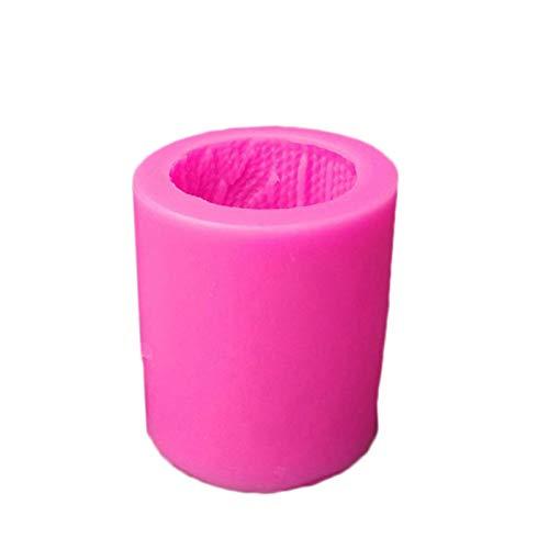 Earlyad Molde de Vela 3D DIY Moldes para Hornear Moldes de jabón Suministros para Hacer Velas Moldes Ideales Se Puede Utilizar para Hacer Pasteles jabones pudines y Otras Manualidades Suitable