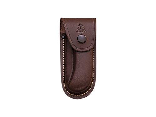 Joker Funda de Cuero marrón para Navaja laguiole, tamaño Grande 140 x 45 mm, FB00