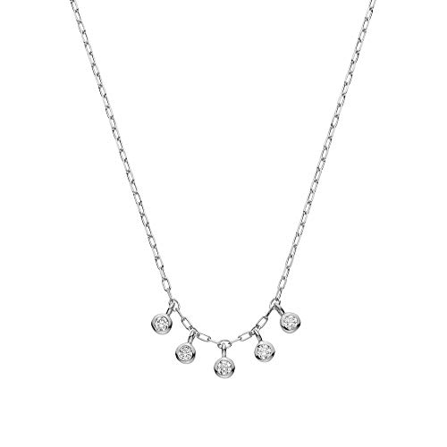 [VAヴァンドーム青山] ダイヤモンド 0.07ct プラチナ Pt900 ネックレス GPAN009440DI