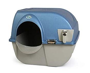 Omega Paw Roll n' Clean Bac à litière pour chat autonettoyante Regular - 41,91cm x 47cm x 43,18cm