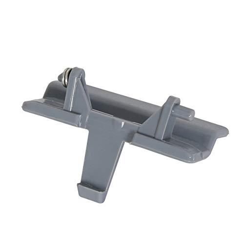 Foundation Deals Gray Center Console Armrest Lid Latch Jump Seat Fits 2010-2018...