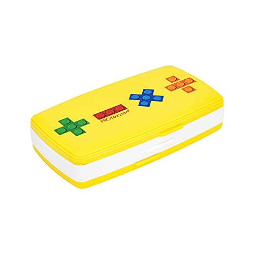 PROfezzion 36 Slots Switch Game Card Case Cartridges Holder Wallet Water-Resistant Protector Organizer for 24 Micro SD /TF Memory Card Keeper Box for 12 Nintendo Switch Game Cards Storage (Yellow)