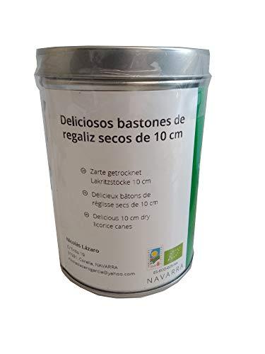 SABOREATE Y CAFE THE FLAVOUR SHOP Regaliz de Palo Ecológico Directamente del Productor Nicolás Lázaro 200 gr