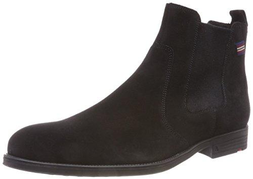 LLOYD PATRON, Herren Chelsea Boots, Schwarz (Schwarz 0), 42.5 EU (8.5 UK)