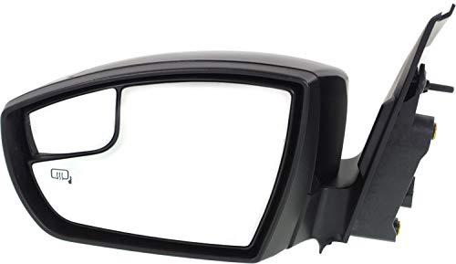 Kool Vue FD242EL-S Mirror for FORD ESCAPE 13-16 LH Power Manual Folding Heated...