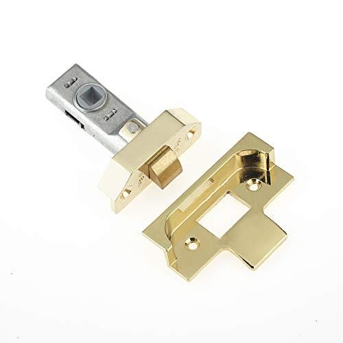 Yale Serrure à mortaise P-M999-PB-76 - Visi Pack - Convient pour Portes Doubles intérieures - Finition Laiton - 76 mm