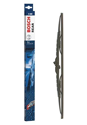 Escobilla limpiaparabrisas Bosch Rear H480, Longitud: 475mm – 1 escobilla limpiaparabrisas para la ventana trasera