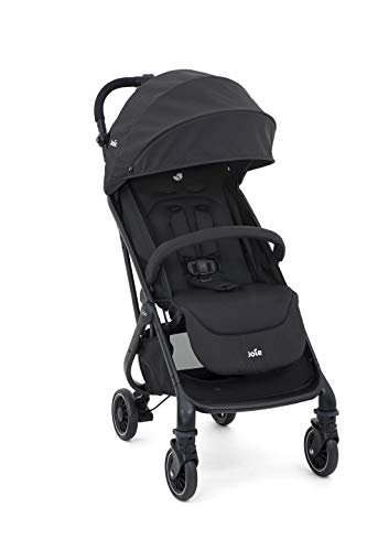 Carrinho de Bebê Tourist, Joie, Preto Coal
