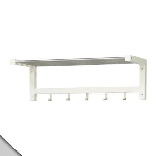 IKEA–TJUSIG–Perchero para sombreros, color blanco