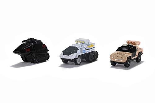 Jada Toys GI Joe 1.65u0022 Nano 3-Pack Die-cast Cars, Toys for Kids and Adults (32083)