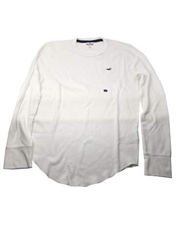 Hollister Herren T-Shirt Graphic V-Ausschnitt Rundhalsausschnitt -  Weiß -  X-Groß