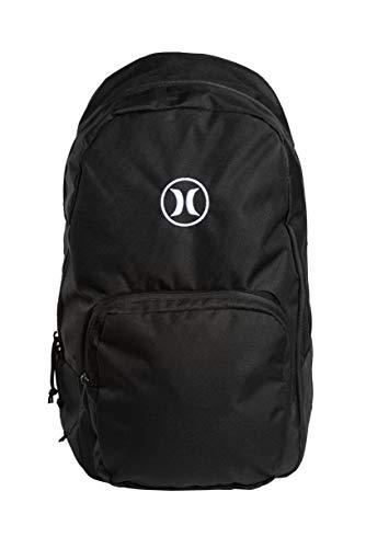 Hurley U Bloke Solid Backpack Mochilas, Hombre, Black, 1SIZE
